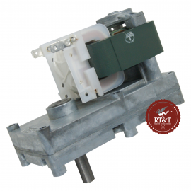 Motoriduttore per stufe a pellet 1,3 RPM albero 9,5 mm