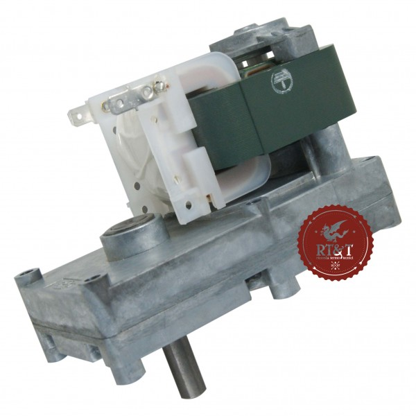 Motoriduttore per stufe a pellet 2,5 RPM albero 9,5 mm
