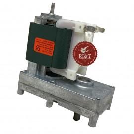 Motoriduttore per stufe a pellet 7,8 RPM albero 9,5 mm