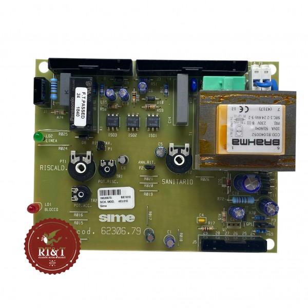 Scheda 24V caldaia Sime Format BF, Format CE Iono, Format OF 6230679