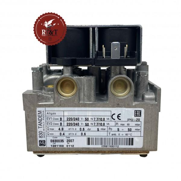 Valvola gas SIT 830 TANDEM 830035 caldaia Sime 6243800