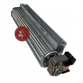 Ventilatore tangenziale 360 2 velocità per termoconvettore Fondital Gazelle 5000, New Gazelle 4000, Windor Plus 5000 6Y41146500