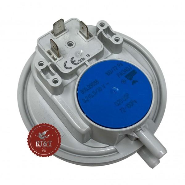 Pressostato aria Huba blu 100/72 Pa caldaia Beretta R01005272