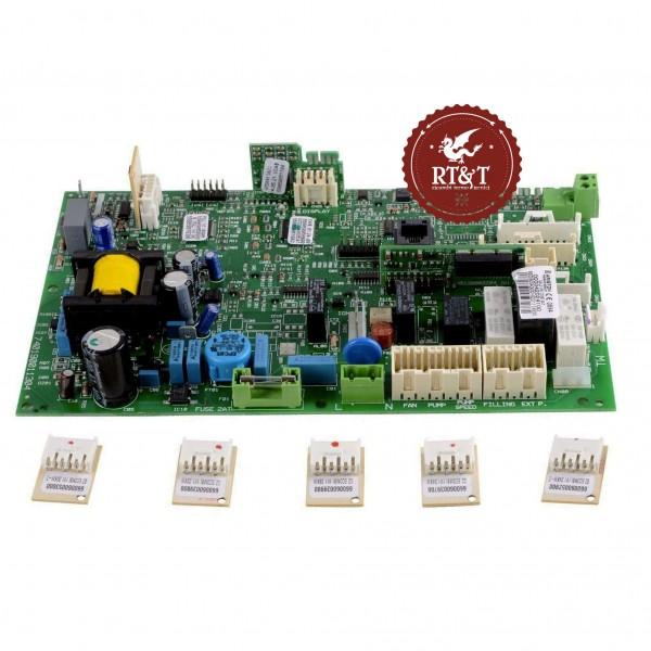 Scheda principale GAL2-UNI COND SAT caldaia Ariston Clas Premium, Genus Premium, Egis Premium 65109138-03, ex 60000566