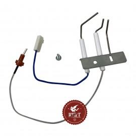 Elettrodo accensione e rilevazione scaldabagno Vaillant MAG 14-0/1 XI, MAG mini 11-0/1 GX, MAG mini 11-0/1 XI 0020206084