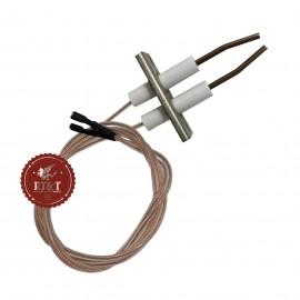 Elettrodo Candela accensione stufa Fondital New Gazelle 2500, New Gazelle 4000, Windor 2500, Windor 4000 6Y41010500