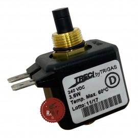 Bobina solenoide 220V valvola gas stufa Fondital Gazelle Techno Classic 6Y41342500