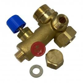 Gruppo rubinetto di carico riempimento caldaia Radiant 26033LA