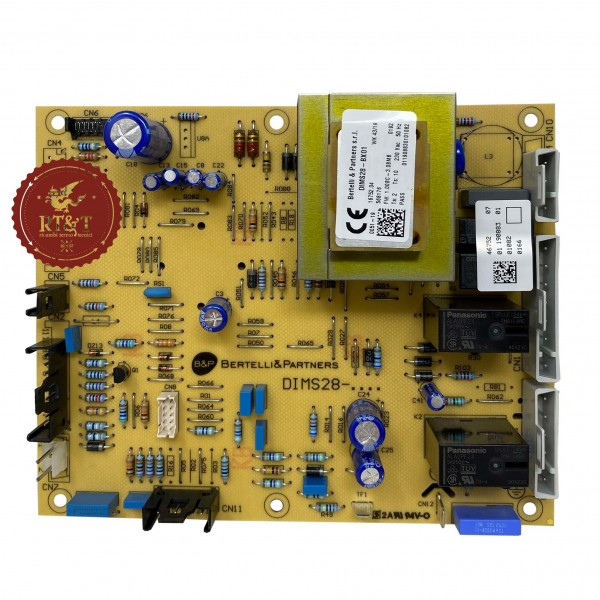 Scheda DIMS28-BX01 caldaia Baxi Luna3 Comfort, Luna3 Silver Space, Nuvola3 Comfort JJJ005687020