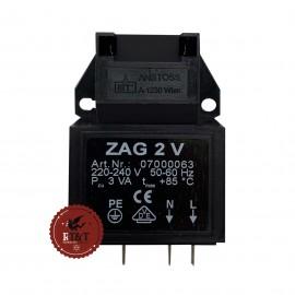 Accenditore ZAG 2 V (07000066) caldaia Baxi Luna3 System HT, Luna Duo Tec MP, Luna HT, Nuvola HT, Power HT JJJ008435220
