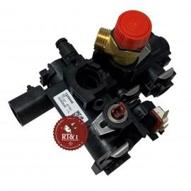 Gruppo blocco idraulico mandata caldaia Baxi Duo-Tec Compact, Eco Compact, Eco5 Compact, Fourtech 711033600