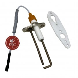 Elettrodo candela accensione caldaia Ariston Aco 27 MFFI, Aco 27 RFFI, Aco 32 MFFI, Aco 32 RFFI 65102198