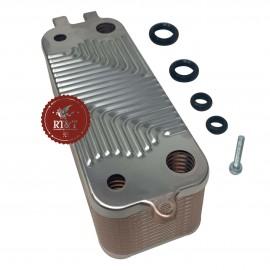 Scambiatore 26 piastre caldaia Buderus Logamax Plus GB062, Logamax Plus GB122, Logamax Plus GB172 87186429490