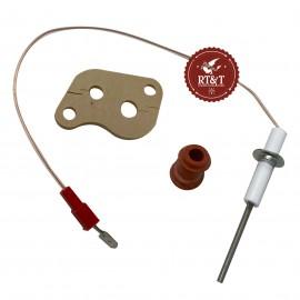 Elettrodo di ionizzazione rilevazione caldaia Buderus GB022, GB112, GB132, GB142, GB152 7100238