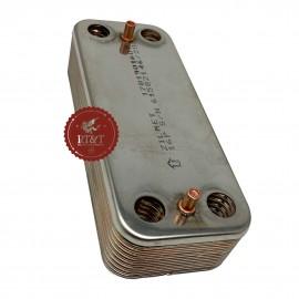 Scambiatore secondario sanitario 16 piastre caldaia Savio Biasi 28 KW BI1001102
