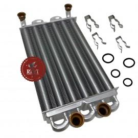 Scambiatore bitermico caldaia Radiant RBC 24, RBS 24 65-00328, ex 58026LA