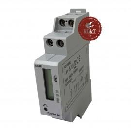 Contatore di energia attiva 230 V- 30A per barra DIN 1M pompa di calore Emmeti 07245360