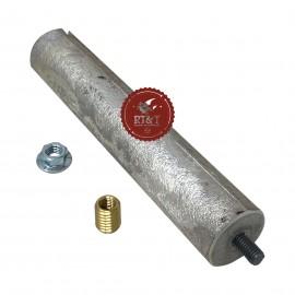Anodo magnesio D21,3 L110 M5 scaldabagno Ariston 65103768-01, ex 65103768