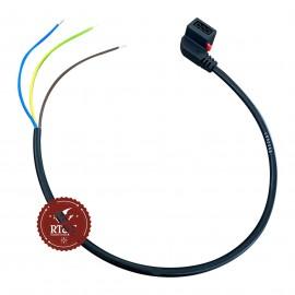 Cavo Cablaggio alimentazione 230 V a tre pin per pompa circolatore Wilo tradizionale e modulante