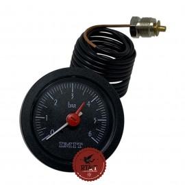 Manometro Idrometro D52 caldaia Hermann Acquaplus, Compact, Master, Laser H048001121