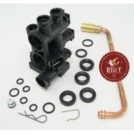 Blocco idraulico sinistro per Chaffoteaux Compy MX2, Mira 61312303