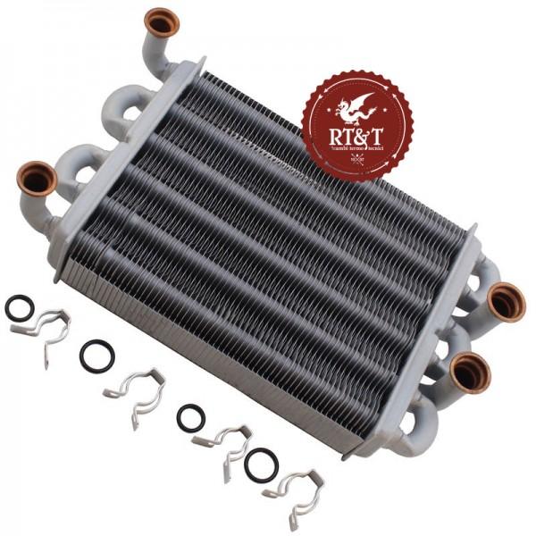 Kit scambiatore bitermico (37404110) per Ferroli DOMIproject F24, DOMI Insert F24, FEReasy F24, Easy Box F24 39819540