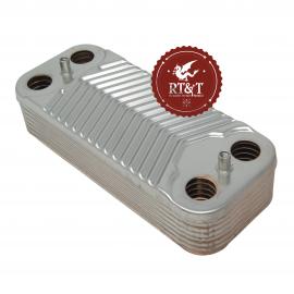 Scambiatore secondario sanitario 14 piastre per Arca Basel, Dea Clip, Pocket SCA0101P1