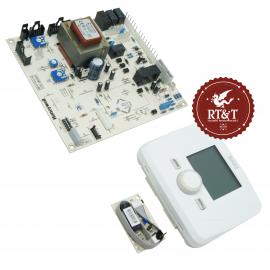 Scheda e telecontrollo per Baxi Luna Air, Luna IN, Luna Max sost. scheda Ineco 2000 SMCML01 JJJ005657840