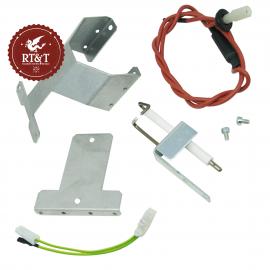 Candelette elettrodi accensione rilevazione per Immergas Eolo Eco@, Extra Eco@, Zeus Eco, Zeus Eco@ 3014259
