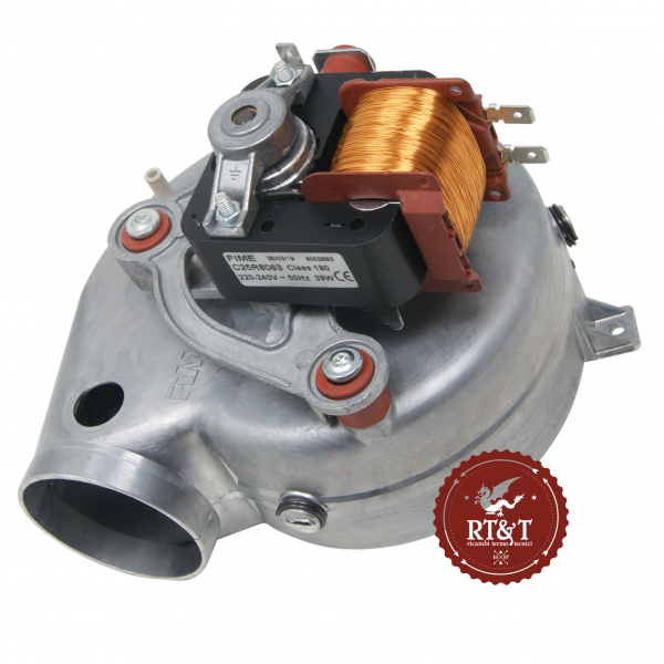 Ventilatore FIME GR00680R per Beretta Boiler, Ciao, Mynute, Option, Rain, Paros, Super Kompakt R10020793