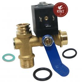 Rubinetto di carico automatico per Ferroli DOMI insert, DOMItech IN, Easy Box, EASYtech 39822390, ex 36902390