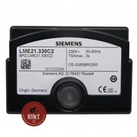Scheda apparecchiatura Siemens LME21.330C2 per bruciatori a gas