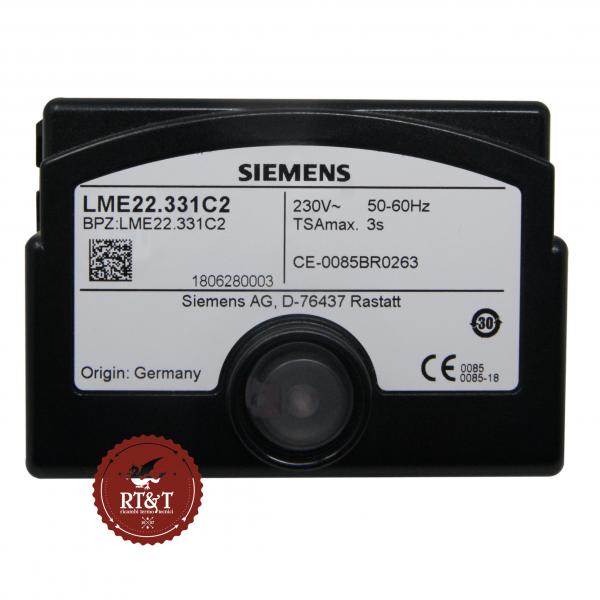 Scheda apparecchiatura Siemens LME22.331C2, ex LME22.331A2 per bruciatori a gas