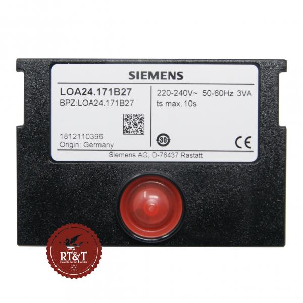 Scheda apparecchiatura Siemens LOA24.171B27