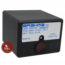 Scheda apparecchiatura accensione Brahma SR3/V 18001352