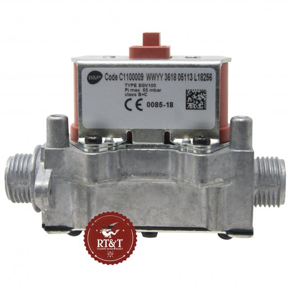 Valvola Gas Bertelli B&P SGV100 C1100009 per Ferroli 39841320