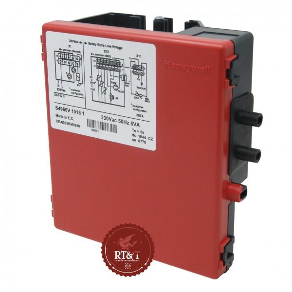 Scheda accensione Honeywell DCF02.2 S4965V1018 per Ferroli Econcept, Fersystem, Maxima, Optimax 39810432, ex 39810430