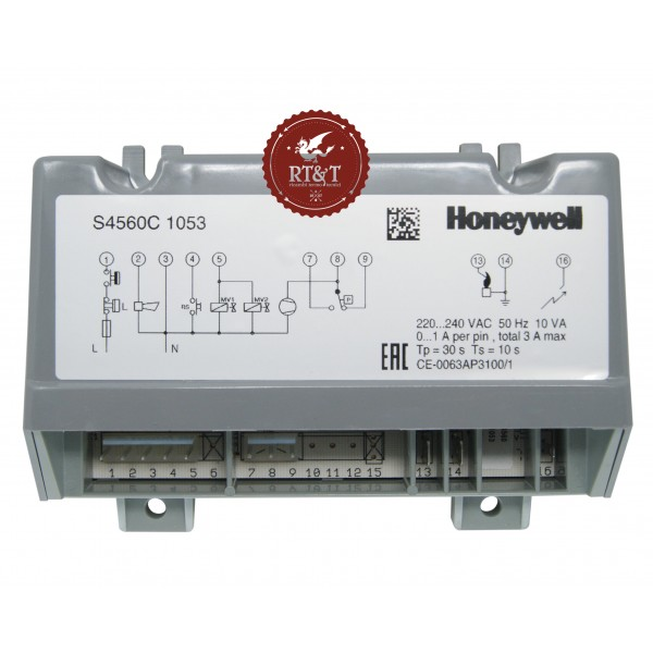 Scheda Honeywell S4560C1053 per Unical 95000871