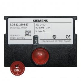 Quadro comandi scheda Siemens (LANDIS & GYR) LGB22.230B27