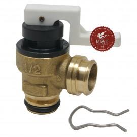 Valvola sicurezza Junkers per Ceraclass Comfort, Ceraclass Excellence, Compress, Supraeco 87160108760