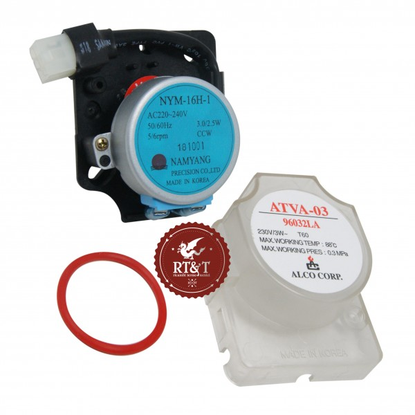 Motore valvola tre vie Radiant per RBA, RCA, RCM, RCR, RHA, RHR, RKA, RKR, RMAS, RSA, RSF, RSR 96032LP