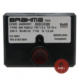 Scheda apparecchiatura accensione Brahma SM192N.2 24283301