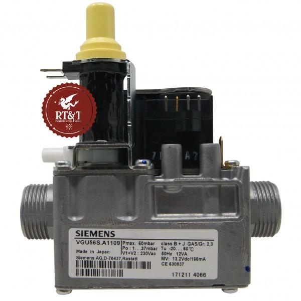 Valvola Gas SIEMENS VGU56S.A1109 per Unical Enel.si, Eve 05, Evelin 95262051