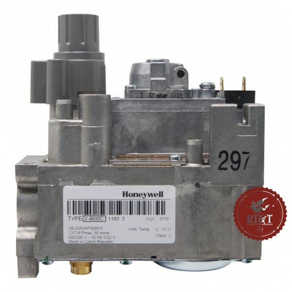Valvola Gas Honeywell V4600C1193 per Unical