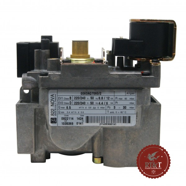 Valvola Gas Sit 822 NOVA 822114 per Hermann Laser, Master, Simplex, Uniblock 022000930