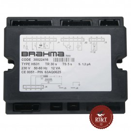 Scheda Brahma HS31 30022416 per Immergas 15589