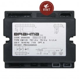 Scheda Brahma CM11/O 20080306 per Immergas Extra 22 CS INOX, Extra 22 TF INOX, Extra Alba 22 TF, Extra Alba 22 TF Boiler 16695