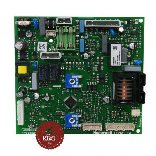 Scheda Honeywell DBM01.1A SM16504 per caldaia FerroliEASY box F, FEReasy C, FEReasy F 39820710, ex 36508061
