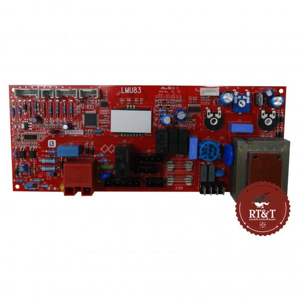 Scheda LMU83 caldaia Unical Eve 05 CTFS 26 Plus, Enel.si E 240 Plus, Enel.si E 260 Plus 95630100