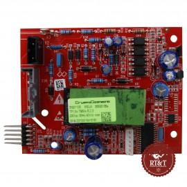 Scheda controllo fiamma caldaia Unical Ipsen CTFS 28, Entrofuori, Enel.Si X 280 95260877